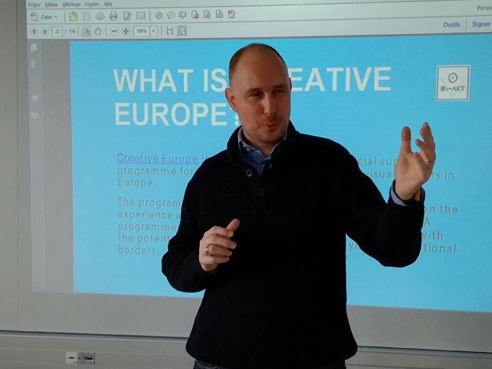 Creative Europe Yannick Le Guern Petrache Master Leader Audencia Nantes
